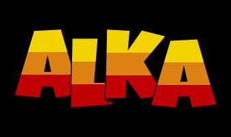 Alka jungle logo