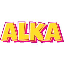 Alka kaboom logo