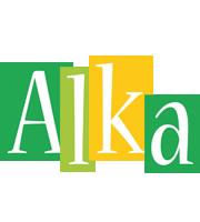 Alka lemonade logo