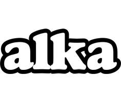 Alka panda logo