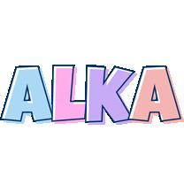 Alka pastel logo