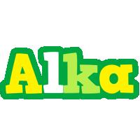 Alka soccer logo