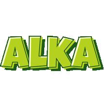 Alka summer logo