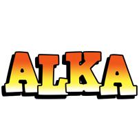 Alka sunset logo