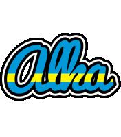 Alka sweden logo