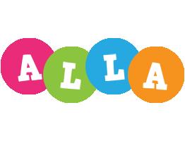 Alla friends logo