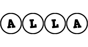 Alla handy logo