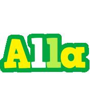 Alla soccer logo