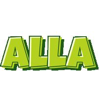 Alla summer logo