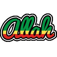 Allah african logo