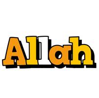 Allah cartoon logo