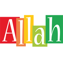 Allah colors logo