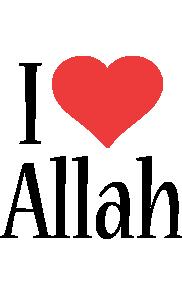 Allah i-love logo