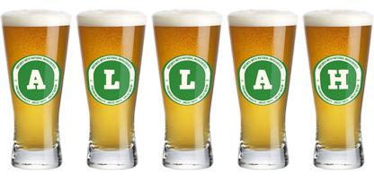 Allah lager logo