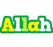Allah soccer logo