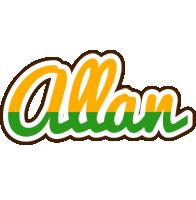 Allan banana logo