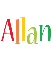 Allan birthday logo