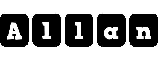 Allan box logo