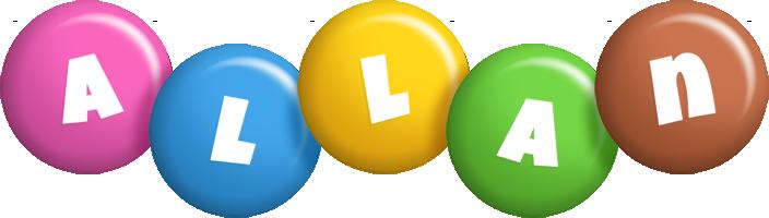 Allan candy logo
