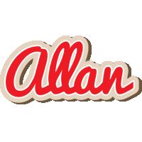 Allan chocolate logo