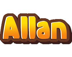 Allan cookies logo