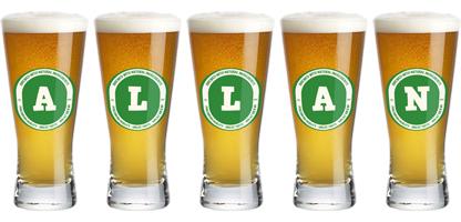 Allan lager logo