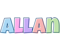 Allan pastel logo