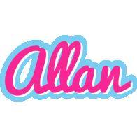 Allan popstar logo