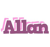 Allan relaxing logo
