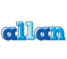 Allan sailor logo