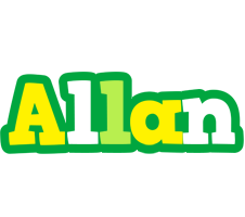 Allan soccer logo