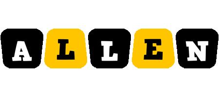 Allen boots logo