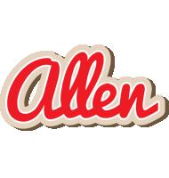 Allen chocolate logo