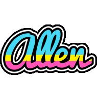 Allen circus logo