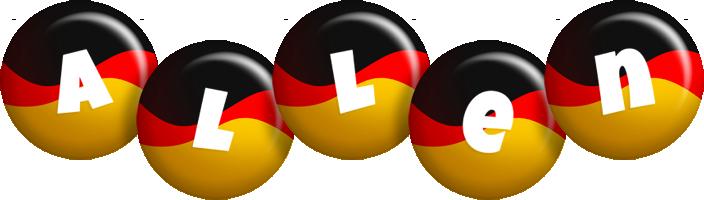 Allen german logo