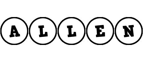 Allen handy logo