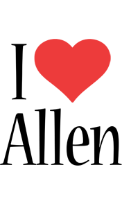 Allen i-love logo