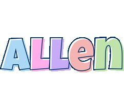Allen pastel logo