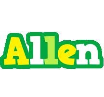 Allen soccer logo