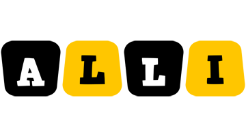 Alli boots logo