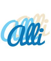 Alli breeze logo