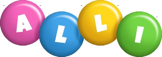 Alli candy logo