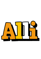 Alli cartoon logo