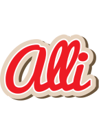 Alli chocolate logo