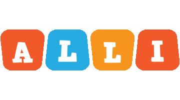 Alli comics logo