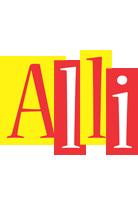 Alli errors logo