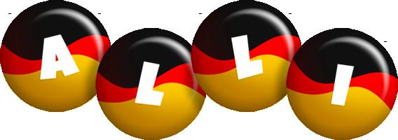 Alli german logo