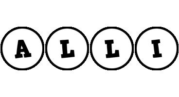 Alli handy logo