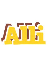 Alli hotcup logo