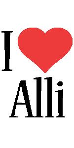 Alli i-love logo